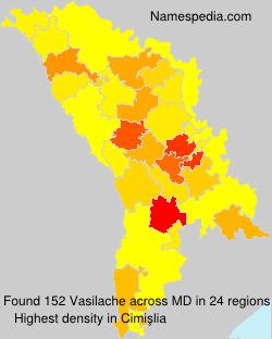 Surname Vasilache in Moldova