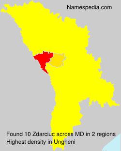 Familiennamen Zdarciuc - Moldova