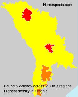Surname Zelenov in Moldova