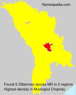 Surname Zilberman in Moldova