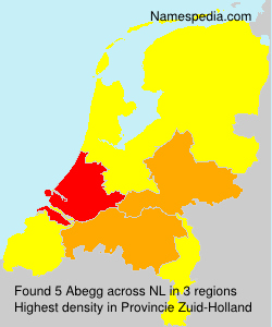 Surname Abegg in Netherlands
