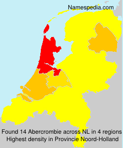 Surname Abercrombie in Netherlands