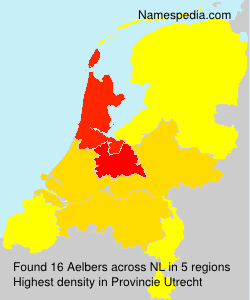 Surname Aelbers in Netherlands