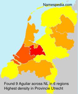 Surname Aguilar in Netherlands