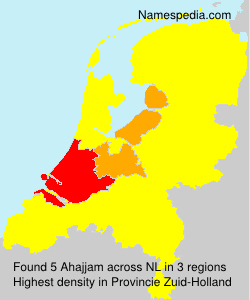 Surname Ahajjam in Netherlands