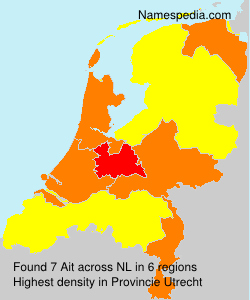 Surname Ait in Netherlands