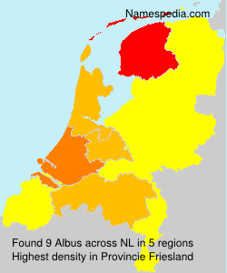 Surname Albus in Netherlands