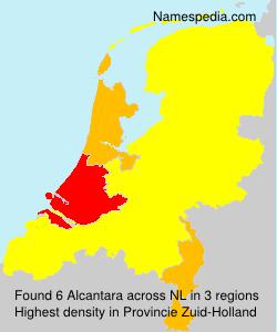 Surname Alcantara in Netherlands