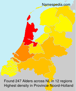 Familiennamen Alders - Netherlands