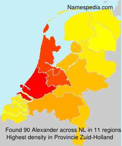 Surname Alexander in Netherlands