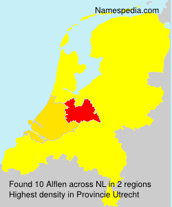 Surname Alflen in Netherlands