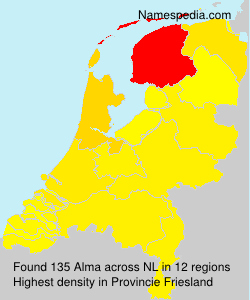 Surname Alma in Netherlands