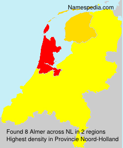 Surname Almer in Netherlands