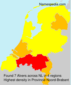 Surname Alvers in Netherlands