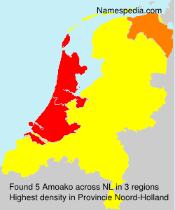 Surname Amoako in Netherlands
