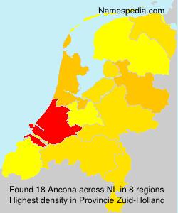 Familiennamen Ancona - Netherlands