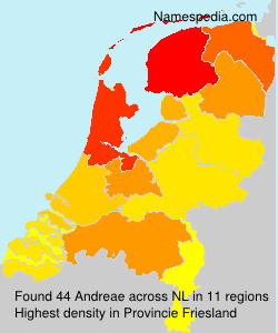 Surname Andreae in Netherlands