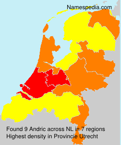 Surname Andric in Netherlands
