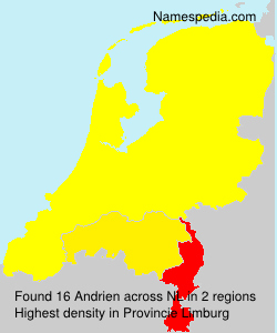 Surname Andrien in Netherlands