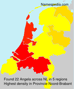 Surname Angela in Netherlands