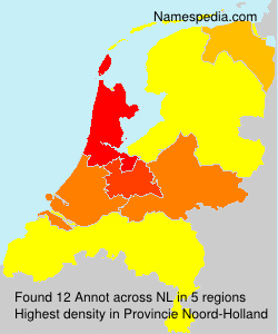Surname Annot in Netherlands