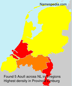 Surname Aoufi in Netherlands