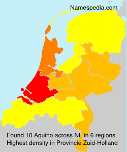 Surname Aquino in Netherlands
