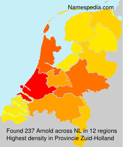 Surname Arnold in Netherlands