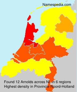 Familiennamen Arnolds - Netherlands
