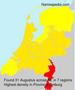 Surname Augustus in Netherlands