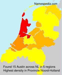 Familiennamen Austin - Netherlands