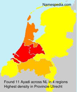 Surname Ayadi in Netherlands
