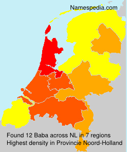 Surname Baba in Netherlands