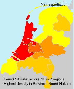 Surname Bahri in Netherlands