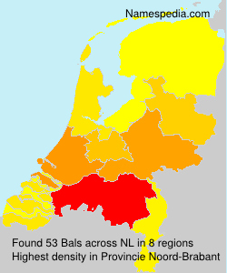 Surname Bals in Netherlands