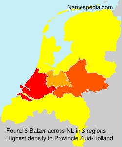 Surname Balzer in Netherlands