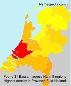 Surname Bassant in Netherlands