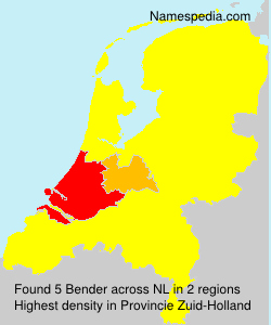 Surname Bender in Netherlands