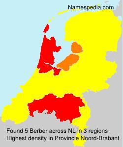 Familiennamen Berber - Netherlands