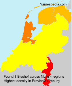 Surname Bischof in Netherlands