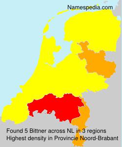 Surname Bittner in Netherlands