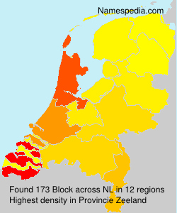 Surname Block in Netherlands