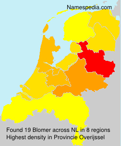 Surname Blomer in Netherlands