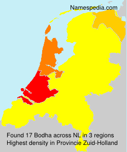 Surname Bodha in Netherlands