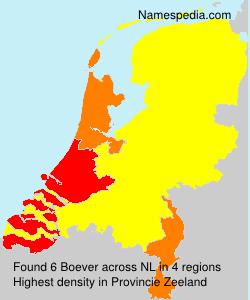 Surname Boever in Netherlands