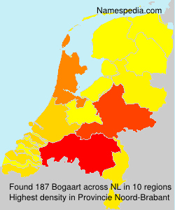 Surname Bogaart in Netherlands