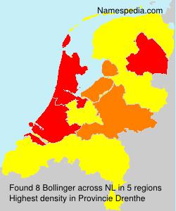 Familiennamen Bollinger - Netherlands