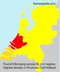 Familiennamen Bonsang - Netherlands