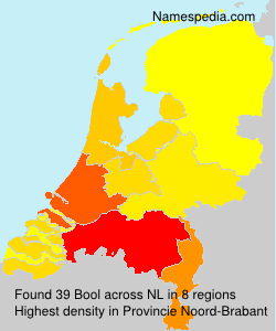 Surname Bool in Netherlands