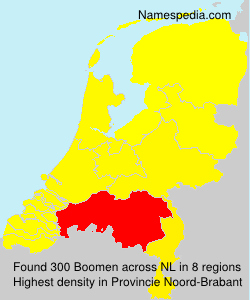 Surname Boomen in Netherlands